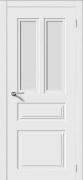 Щитовая дверь P6  остекленная