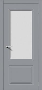 Щитовая дверь P4 остекленная