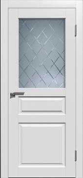 Щитовая дверьO2 остекленная