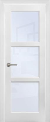 Щитовая дверь O4 остекленная