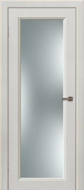 Щитовая дверь  O6 остекленная