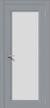 Щитовая дверь P1 остекленная