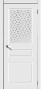 Щитовая дверь P3  остекленная