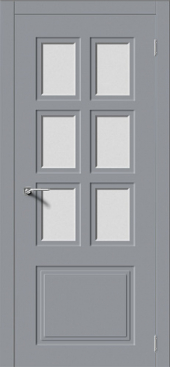 Щитовая дверь P8 остекленная