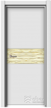 Шпон Ледяное дерево (глухая) серии Дакота
